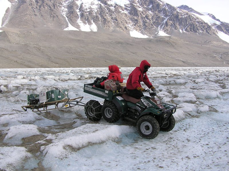 Photo of field work at McMurdo Station