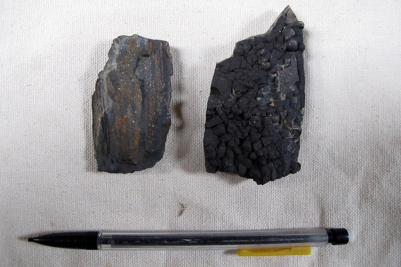 two rocks from Transantarctic mountains