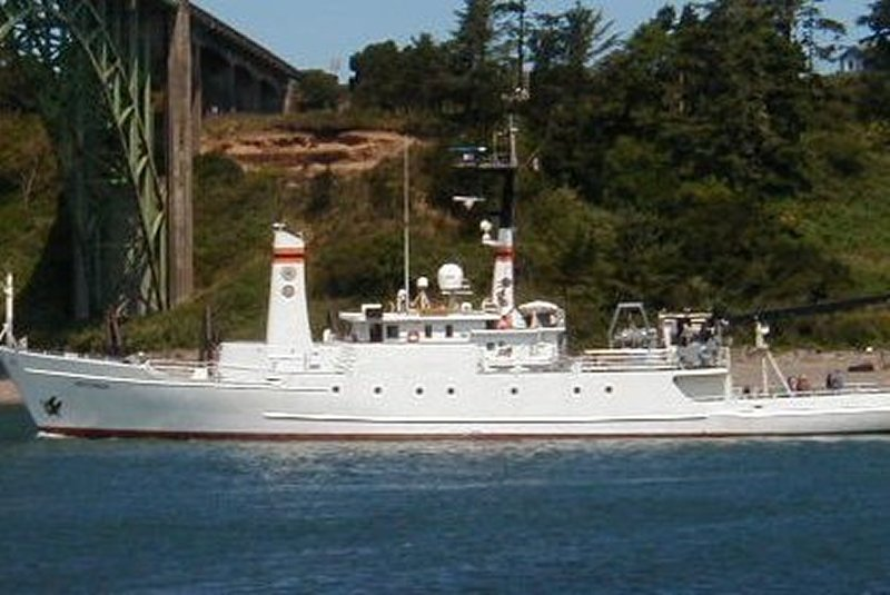 research vessel Wecoma