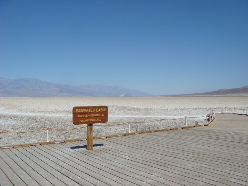 badwater basin, death valley national park where magnetic bacteria was found