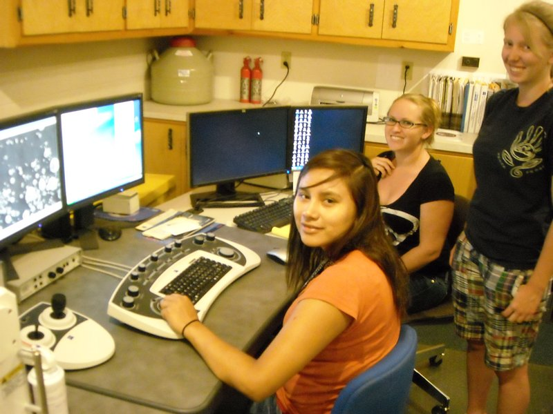 undergraduate researchers with the south dakota school of mines and technology