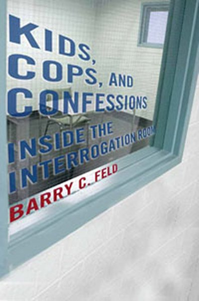 book cover for kids, cops and confessions