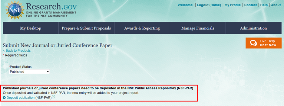 nsf award abstract guidelines
